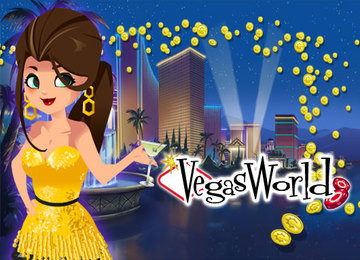 Play Online Vegas World Casino Slots