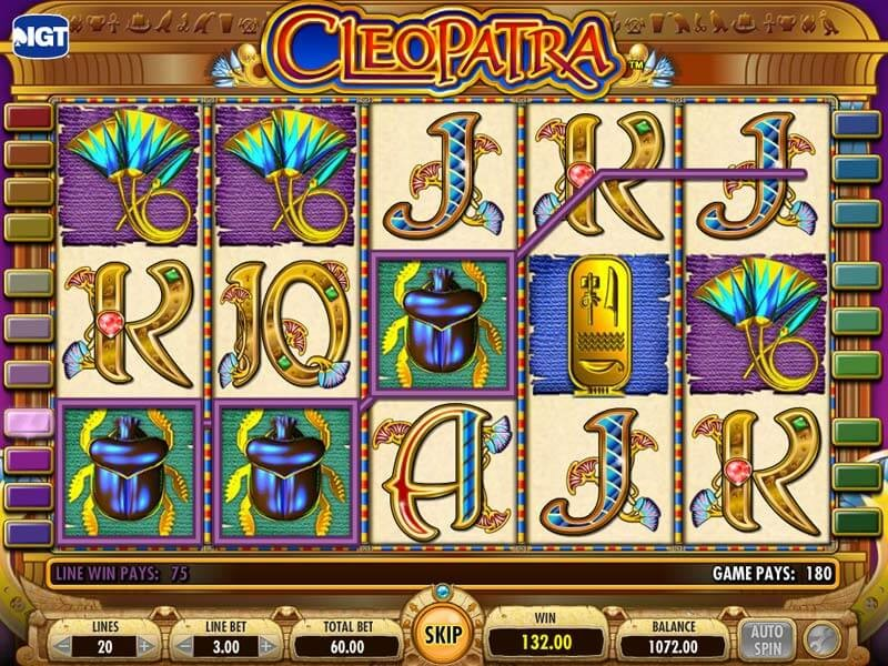 Play The Best Cleopatra Slots Bonuses Online